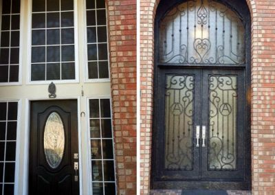 Custom Iron Door 374