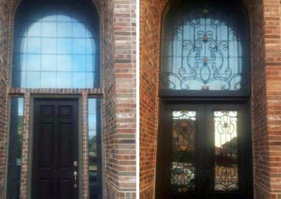 Custom Iron Door 301