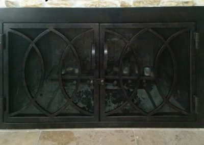 Ornamental Fireplace Screen 519