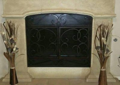 Ornamental Fireplace Screen 511