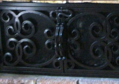 Ornamental Fireplace Screen 508