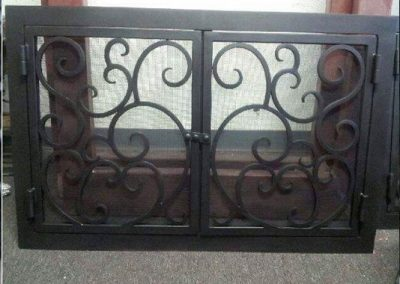 Ornamental Fireplace Screen 507