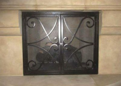 Ornamental Fireplace Screen 504