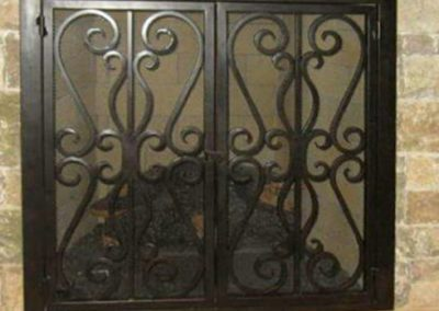 Ornamental Fireplace Screen 517
