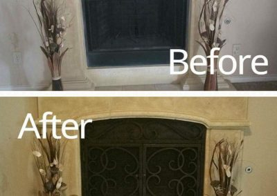 Ornamental Fireplace Screen 515