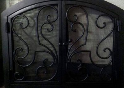 Ornamental Fireplace Screen 513