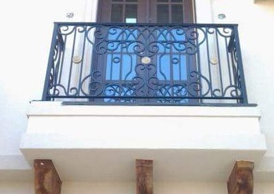 Wrought Iron Balcony 207