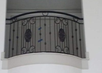 Wrought Iron Balcony 206