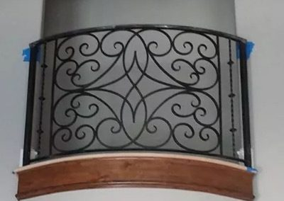 Wrought Iron Balcony 205