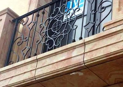 Wrought Iron Balcony 202