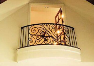 Wrought Iron Balcony 203